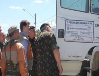 Governo Federal estuda otimização da Operação Carro-Pipa para ampliar abastecimento
